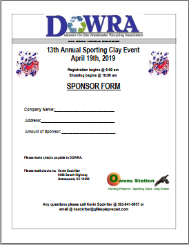 Clay Shoot Registration